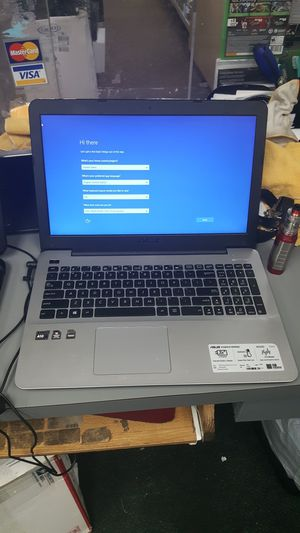 Asus laptop notebook computer AMD A10 4GB 500GB HDD WIN 10 for Sale in Baltimore, MD