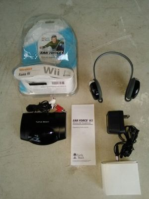 Wii Wireless Game Headphones By Turtle Beach. L@@K!!! for Sale in Mesa, AZ
