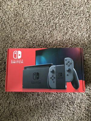 Nintendo Switch with Gray JoyCon for Sale in Monroeville, PA