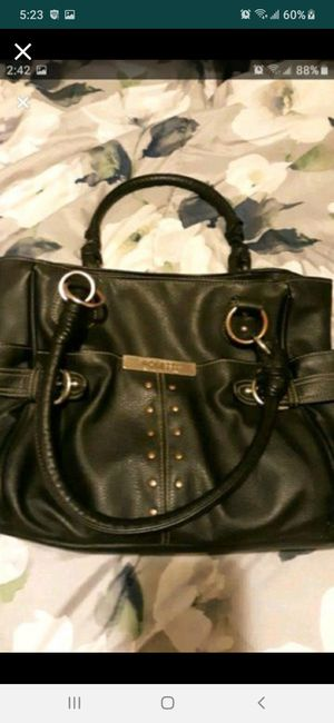 Rossetti black leather purse large for Sale in Southbridge, MA