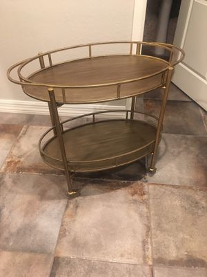 Zuo Bar Cart/ End Table for Sale in Phoenix, AZ