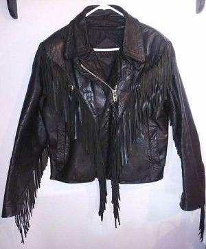 Vintage Bermans Genuine Leather Jacket Size L for Sale in Middletown, CT