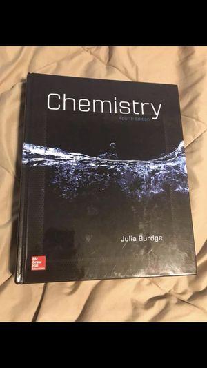 Chemistry hardback textbook for Sale in Starkville, MS