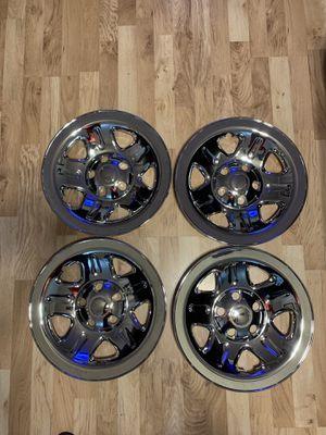 02-06 Jeep Wrangler Wheel Covers for Sale in Fredericksburg, VA
