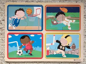 Sports wooden puzzle - Green Start for Sale in Austin, TX