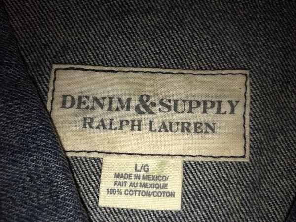 Ralph Lauren Men's Jean Jacket
