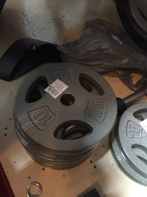 Lots of 10 pound Standard weight plates for Sale in Orlando, FL
