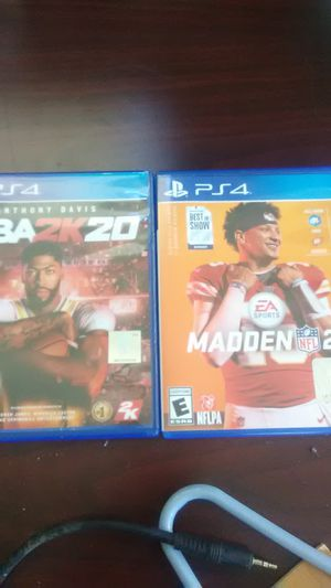 PS4 GAMES for Sale in Mayville, NY
