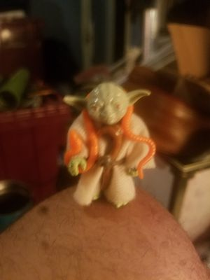 [Star Wars 80s Yoda action figure[ for Sale in Las Vegas, NV