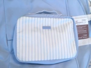 Garment bag with matching toiletry bag for Sale in Hiram, GA