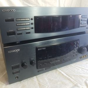 Kenwood Reciever And Equalizer for Sale in Escondido, CA
