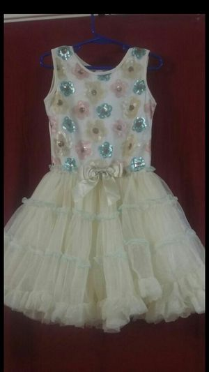 New only worn once beautiful colorful dress size 6X /7 beautiful colors $10 for Sale in Tucson, AZ