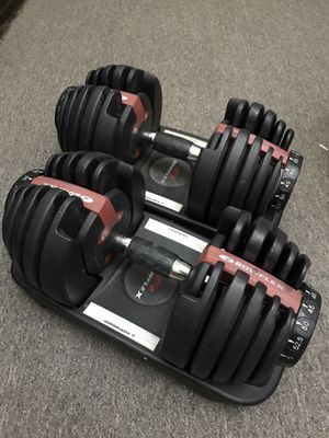 Bowflex dumbbells workout for Sale in New York, NY