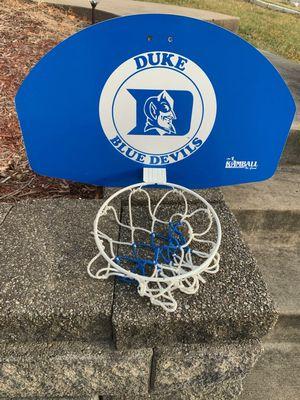 Duke mini basketball hoop for Sale in Verona, PA