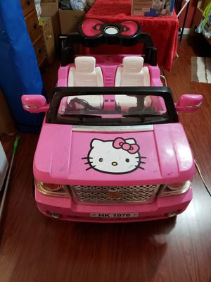 Hello Kitty SUV 12-Volt Battery-Powered Ride-On for Sale in Plantation, FL