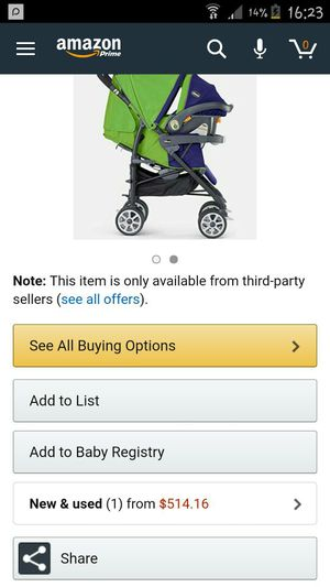 compact fold stroller. for Sale in Falls Church, VA