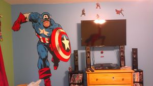 Captain America Fathead for Sale in West Palm Beach, FL