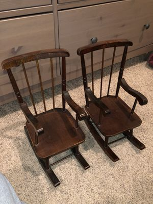 18inch doll rocking chairs for Sale in Provo, UT