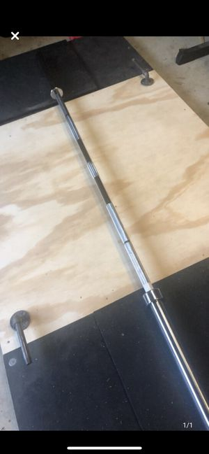 BRAND NEW 7' Olympic barbell with tag for Sale in Clifton, VA