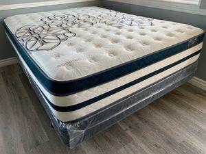 Queen Siesta bamboo plush comfort mattresses sets. for Sale in Corona, CA