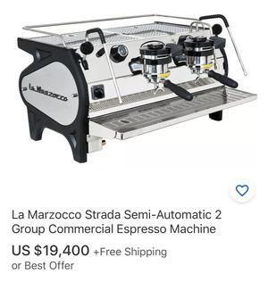 La Marzocco Strada Espresso and Mazzer Robur coffee grinder for Sale in Montebello, CA