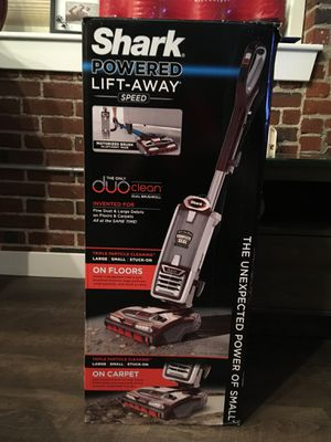 Brand new shark vacuum still in box retail price 450.00 for Sale in Everett, MA