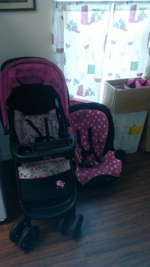 Minnie Mouse stroller car seat and playpen for Sale in Tampa, FL