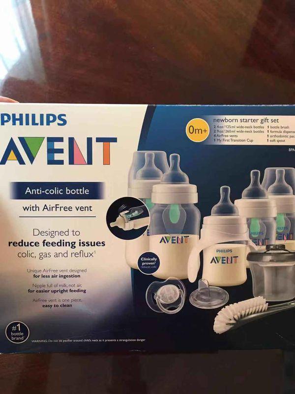 Philips Avent sterilizer and newborn bottle set