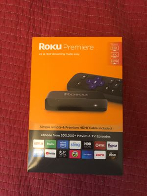 Roku Premiere 4K & HDR for Sale in San Diego, CA