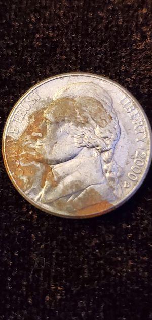 Rare 2000 Jefferson Nickel error for Sale in N REDNGTN BCH, FL