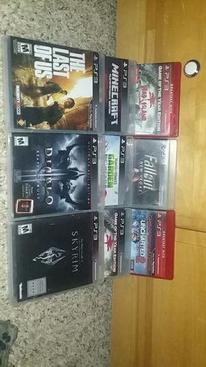 Ps3 GAMES / Controller for Sale in Salem, OR