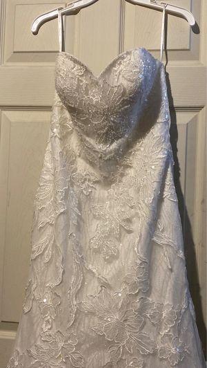 David's Bridal Galina Signature Wedding Dress Size8 $450 ‼️‼️ for Sale in Philadelphia, PA