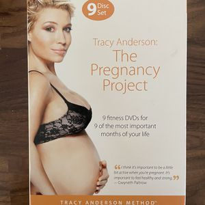 Tracy Anderson: The pregnancy Project 9 DVDs for Sale in Mount Laurel Township, NJ
