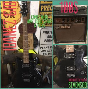 Ibanez GIO guitar bundle w/ amp, cord, strap, & pics for Sale in Houston, TX