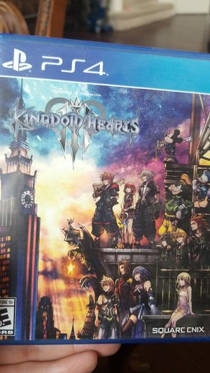 Ps4 - kingdom hearts 3 for Sale in Suisun City, CA