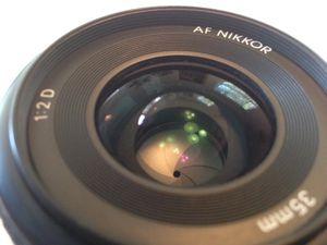 Nikon AF NIKKOR 35mm f/2D Lens with Auto Focus for Nikon DSLR Cameras for Sale in Miami, FL