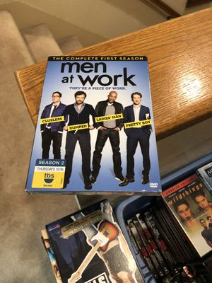 Men At Work The Complete First Season DVD Brand New Factory Sealed tv series 1 one s1 for Sale in Buena Park, CA