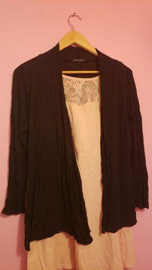 Black cardigan. PICK Up at Van nuys for Sale in Los Angeles, CA