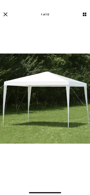 Wedding Party Event Tent Outdoor Canopy 10'x10' Gazebo Pavilion Cater Heavy Duty for Sale in Scottsdale, AZ
