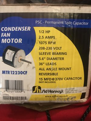 Condenser fan motor for Sale in Berkeley Township, NJ