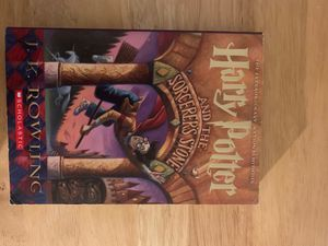 Harry Potter - 1st in the series by J.K. Rowling - never used - a classic for Sale in Boston, MA