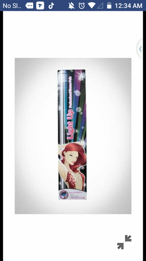 Dance pole with lights and carrier case for Sale in Knoxville, TN