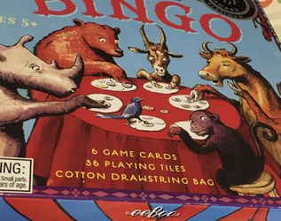 Kids Game Bingo for Sale in Los Angeles,  CA