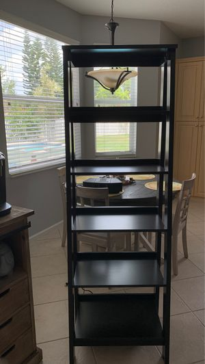 Ladder shelf 5 shelves for Sale in Royal Palm Beach, FL