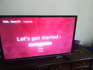 32ich TCL Roku Smart TV with no remote for Sale in Richmond, VA