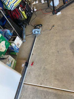 Garage door opener and rail for Sale in Henderson, NV