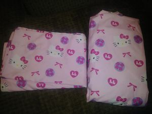 Hello Kitty crib/toddler bed sheet set for Sale in Palm Harbor, FL