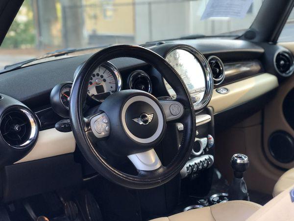 2009 mini cooper S convertible manual transmisión