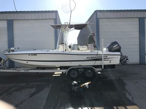 2005 Hydra Sport Baybolt 23' - Low Hours - Serious inquiries only please. for Sale in Houston, TX