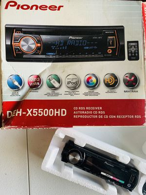 Pioneer DEH-X5500HD USB/MP3/CD Player In Dash Receiver for Sale in Riverview, FL